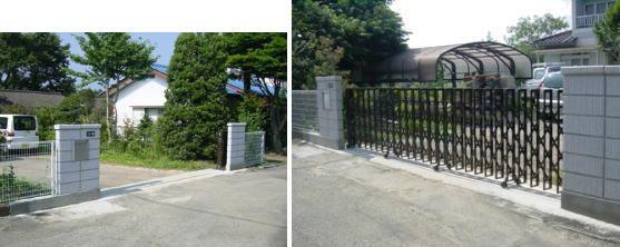 門扉・フェンス:施工事例2