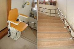 階段昇降機・設置事例:前橋市IK様邸
