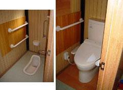 施工事例4:和トイレから洋トイレへの改修:前橋市南町