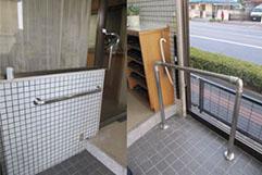 施工事例9:高級ステンレス手すり設置:前橋市I様邸