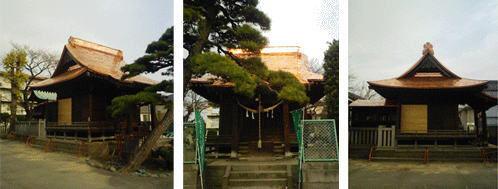 屋根(瓦から銅一文字葺へ)